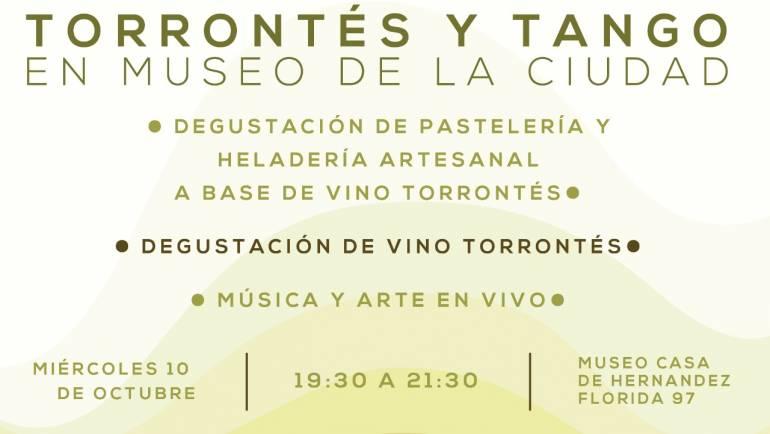 TORRONTÉS Y TANGO