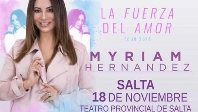 MYRIAM HERNÁNDEZ – LA FUERZA DEL AMOR