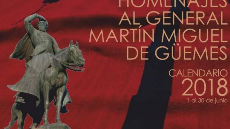 HOMENAJE AL GRAL. MARTÍN MIGUEL DE Güemes