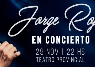 Jorge Rojas a beneficio de la Fundación Casa Fraterna