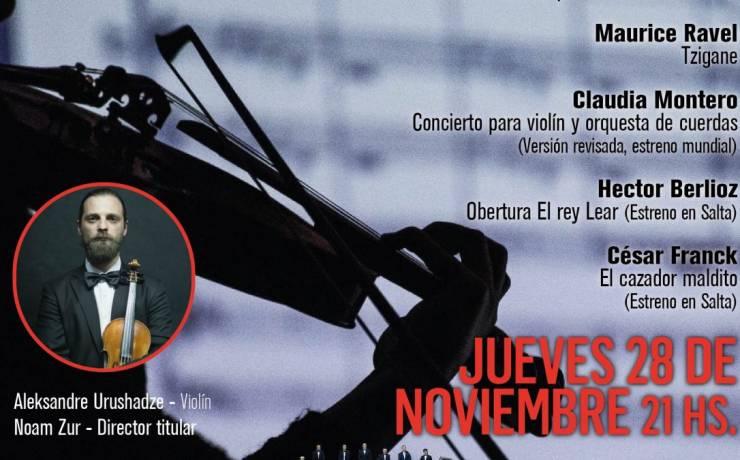 """Nuevo concierto OSS, """"Danzas argentinas y francesas"""""""