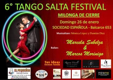 TANGO SALTA FESTIVAL – Milonga de Cierre