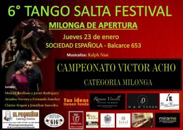 TANGO SALTA FESTIVAL – Campeonato Victor Acho