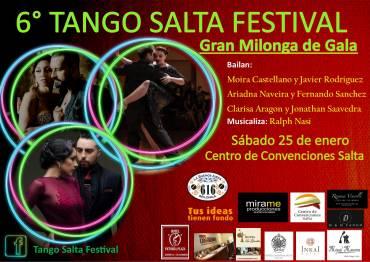 TANGO SALTA FESTIVAL – Gran Milonga de Gala