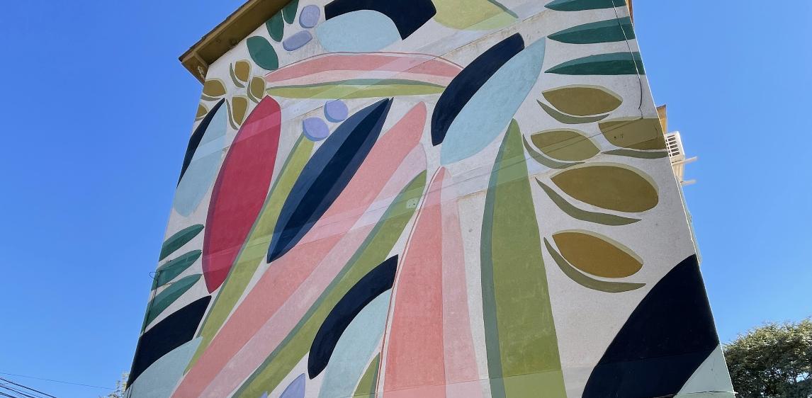 """Mural """"SUCESOS"""" – Mili D`Aiello"""