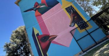 """Mural """"CONFLUENCIA"""" – Mauricio Molina"""