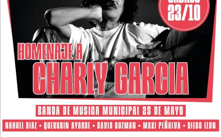 """La Municipalidad invita al espectáculo """"Homenaje a Charly Garcia"""""""