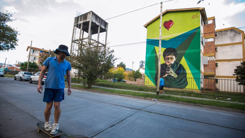 Mural S/T- Heber Artaza