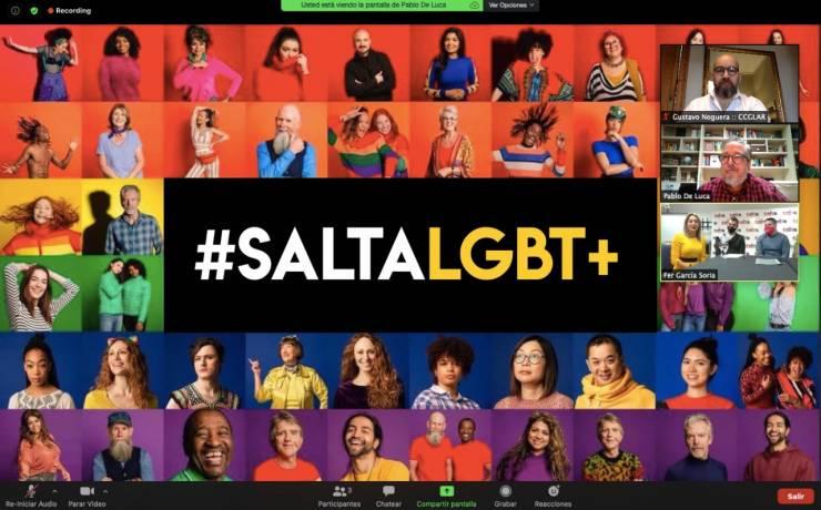 El Ente de Turismo de la Ciudad de Salta y CCGLAR, firmaron un convenio para el colectivo LGBTIQ+