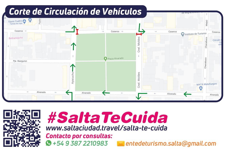 """El Corredor Balcarce se suma al proyecto """"Ganemos la calle con responsabilidad"""""""
