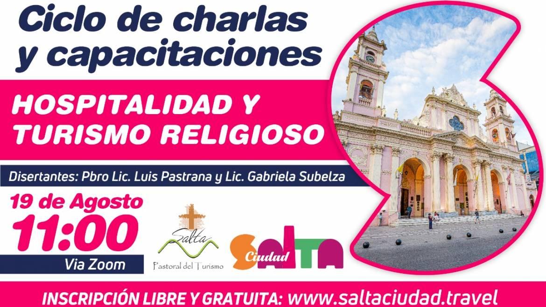 Ciclo de Charlas: Redescubriendo la Ciudad a través del Turismo Religioso