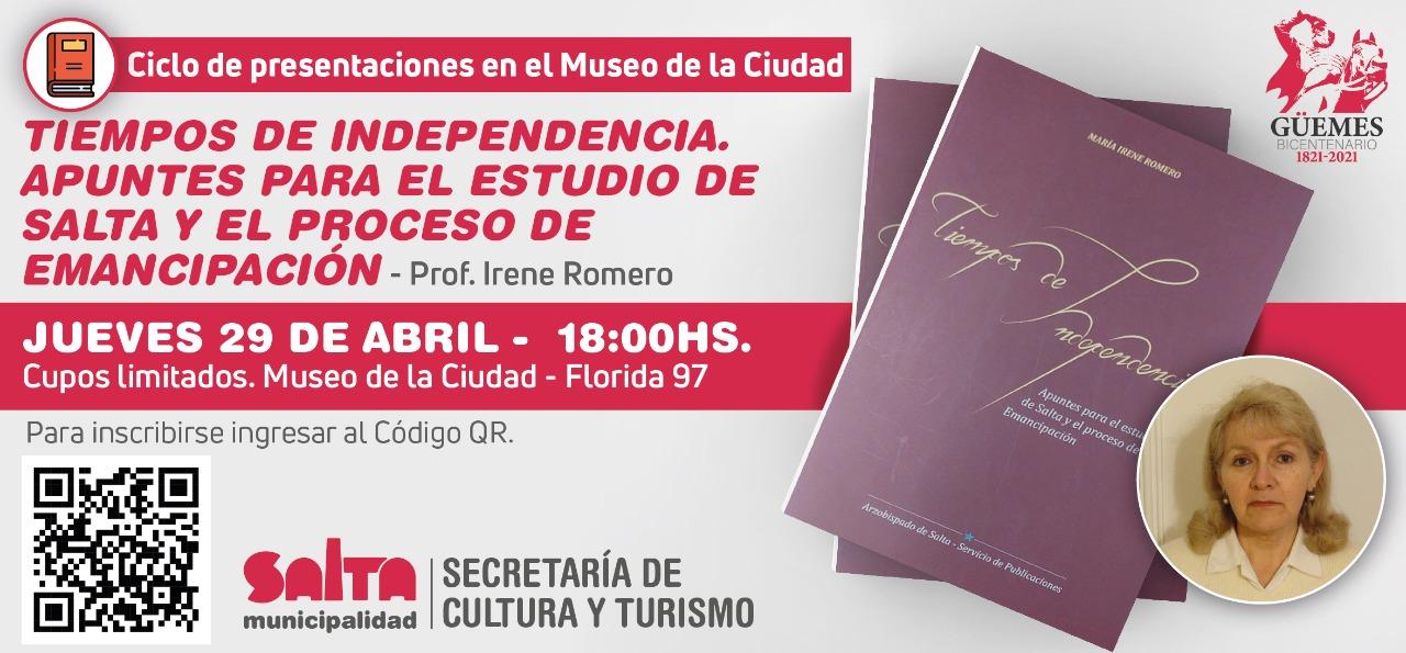 Continúa el Ciclo de presentaciones sobre la Gesta Güemesiana