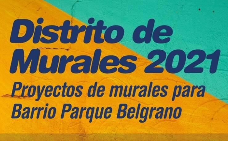 Este jueves la Municipalidad entregará los premios a los ganadores del Concurso de Murales 2021