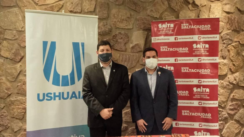 La Municipalidad firmó un convenio de cooperación turística con Ushuaia