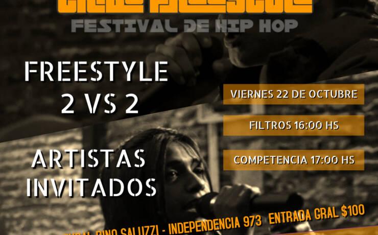 Mañana se desarrollará el festival de Hip Hop en el Centro Cultural Dino Saluzzi