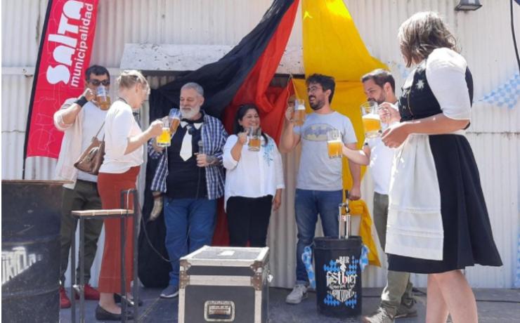 La 4ta edición del Oktoberfest convocó a gran cantidad de salteños y turistas