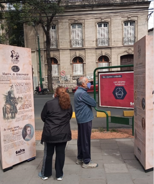 Muestra itinerante sobre la vida de Martín Miguel de Güemes